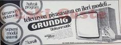 Grundig televizyon reklamı
