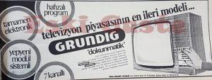 Grundig - Eski Reklamlar