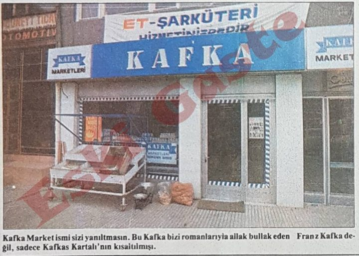 Cezmi Ersöz yazdı: Kafka Market'te et satışları başladı