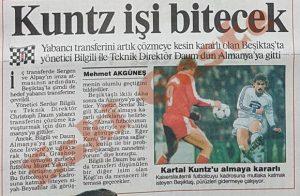 Kuntz Beşiktaş