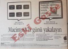 Macintosh reklamı / Macintosh'la günü yakalayın