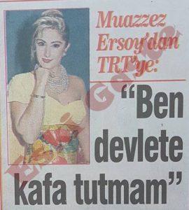 Muazzez Ersoy TRT