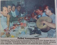 Mustafa Denizli efkar dağıttı