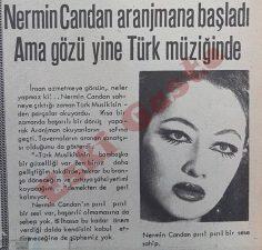 Nermin Candan aranjmana başladı ama gözü yine Türk müziğinde