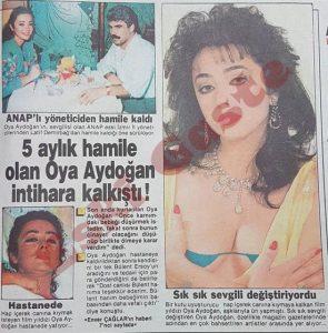 Oya Aydoğan İntihara Kalkıştı