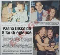 Pasha Disco'da 8 farklı eğlence