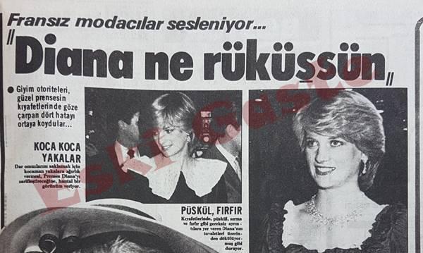 Fransız modacılar sesleniyor: Diana ne rüküşsün