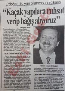 Recep Tayyip Erdoğan - Eski Fotoğraflar