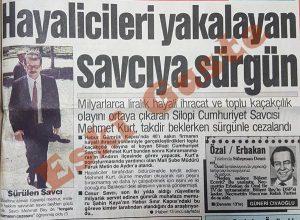 Silopi Savcısı Mehmet Kurt