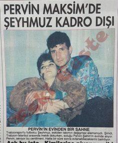 Pervin Maksim'de Trabzonsporlu Şeyhmuz kadro dışı