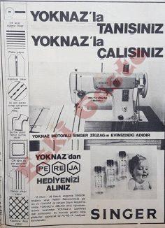Singer Yoknaz reklamı