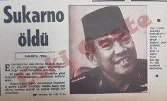 Sukarno öldü