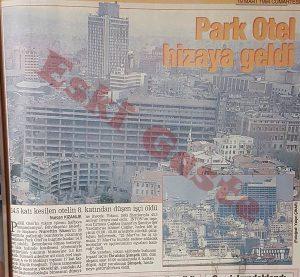 Taksim Park Otel yıkımı