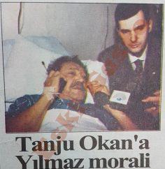 Tanju Okan'a Mesut Yılmaz morali
