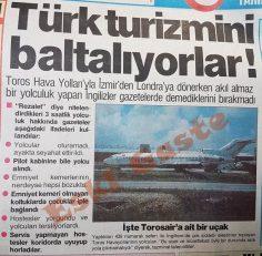 Toros Air'e eleştiri: Türk turizmini baltalıyorlar