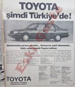 Toyota Corona 1984 - Eski Reklamlar