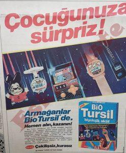 Tursil Reklamı - Eski reklamlar