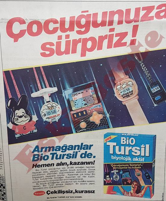 Bio Tursil reklamı