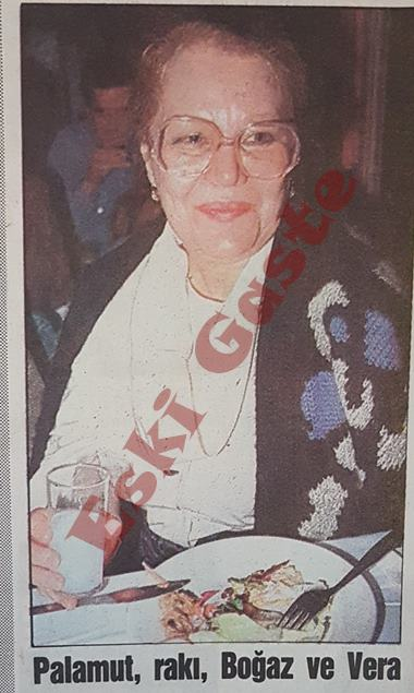 Vera Tulyakova İstanbul'da