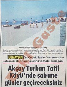 Akçay Turban Tatil Köyü'nde şairane günler geçireceksiniz