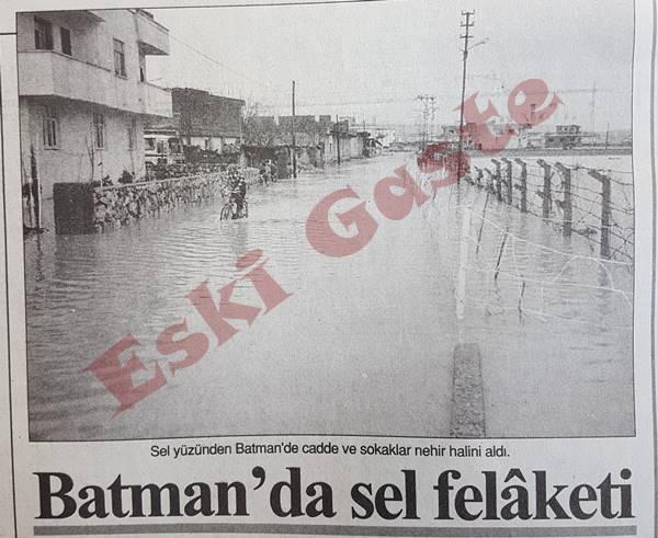 Batman'da sel felaketi
