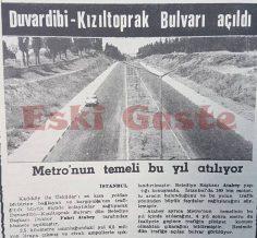 Duvardibi – Kızıltoprak bulvarı açıldı