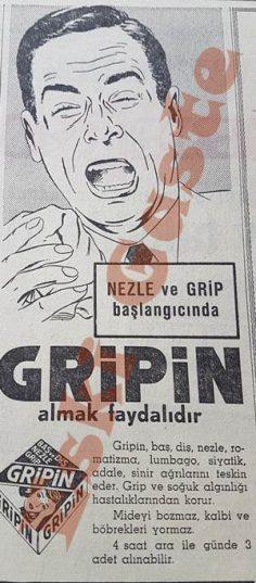 Eski Gripin reklamı