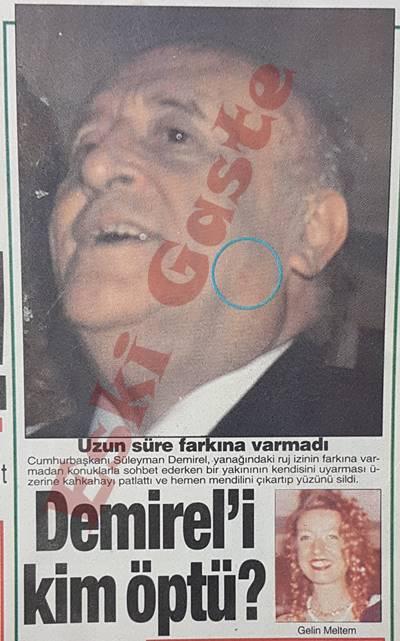 Süleyman Demirel'i kim öptü?