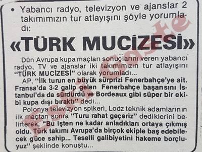 Fenerbahçe -Bordeaux ve Galatasaray – Lodz maçları Avrupa basınında
