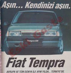 1990 model Fiat Tempra reklamı