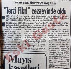 Fikri Sönmez cezaevinde öldü