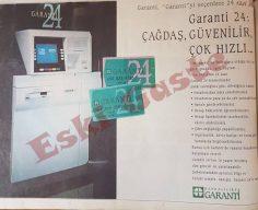 Garanti Bankası ATM reklamı