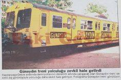 Günaydın Gazetesi treni!