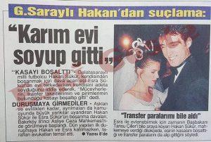 Hakan Şükür Esra Şükür