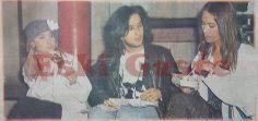 Hülya Avşar, Tarkan ve Yonca Evcimik'ten ayak üstü atıştırma