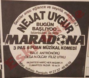 Nejat Uygur - Maradona