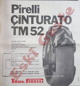 Pirelli Çinturato Traktör Lastiği