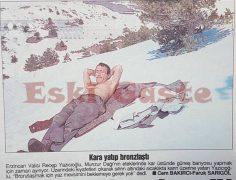 Vali Recep Yazıcıoğlu'nun kar keyfi