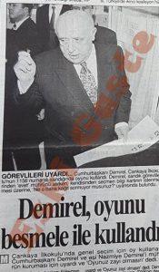 Süleyman Demirel