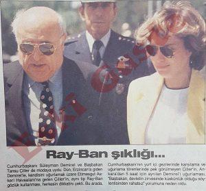 Süleyman Demirel Tansu Çiller