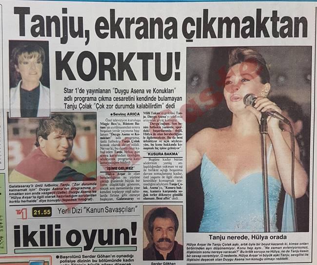 Tanju Çolak Hülya Avşar yüzünden ekrana çıkmaktan korktu