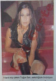 Tuğçe San: Türkiye'nin esmer Madonnası olacağım
