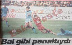 Bal gibi penaltıydı!