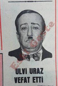 Ulvi Uraz