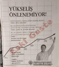 1994 yerel seçimleri öncesi Zülfü Livaneli reklamı