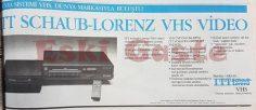 ITT Schaub-Lorenz VHS Video
