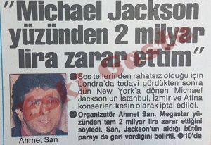Ahmet San - Michael Jackson