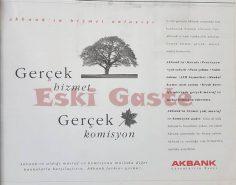 1995'ten Akbank reklamı