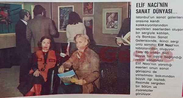 Elif Naci'nin sanat dünyası