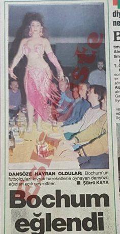 Bochum İstanbul'da eğlendi